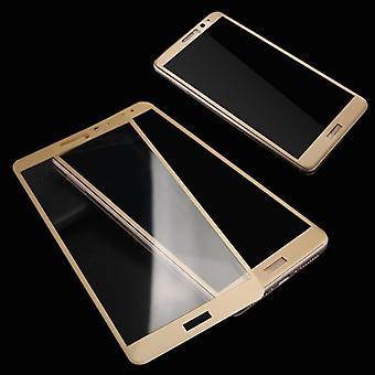 Kokonaan karkaistu lasi 0.26 mm ohut H9 isku gold Huawei P10 suoja kattaa uusia