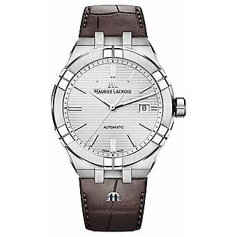 Maurice Lacroix Aikon Automatic Brown Leather AI6008-SS001-130-1 Watch