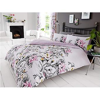 Eden Floral Duvet Cover Set