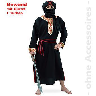 Traje de beduino árabe hombres del desierto Tuarek Señor traje