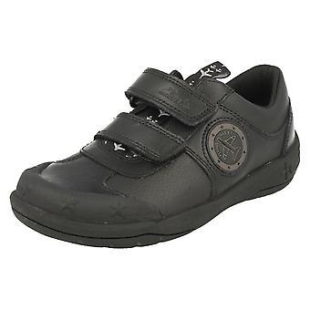 Jungen der Schule Clarks Schuhe mit Lichter Jetsky Spaß