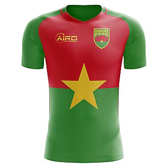 2020-2021 Burkina Faso Home Concept Football Shirt