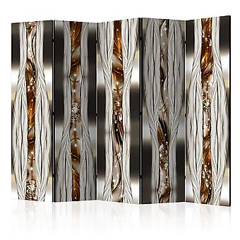 5-teiliges Paravent - Artistic Expression II [Room Dividers]