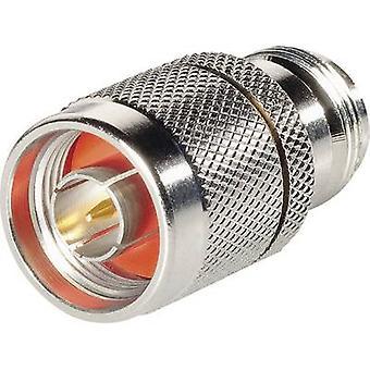 BKL elektronisk N-adapter N revers polaritet socket-N plugg 1 PC (er)