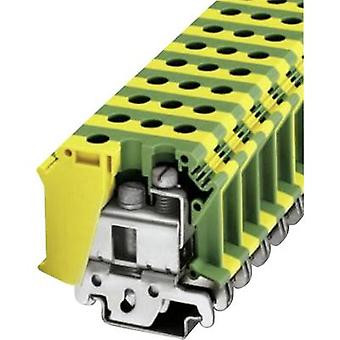 Phoenix Contact UISLKG 35 0443065 PG terminal Number of pins: 2 0.75 mm² 35 mm² Green, Yellow 1 pc(s)