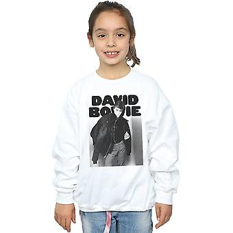 David Bowie Girls Jacket Photograph Sweatshirt