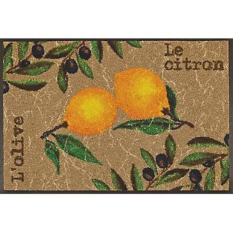 lavare + a secco Le Citron cucina tappeto lavabile robusto tumble