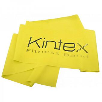 KINTEX fitness tape different strengths yellow (thin - 0. 15 mm)