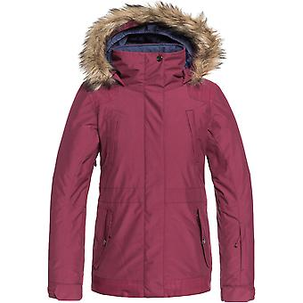 Roxy Girls Tribe Snow Waterproof Insulated Light Ski Coat