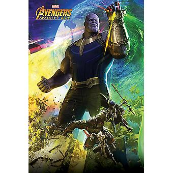Avengers oneindigheid was poster Thanos