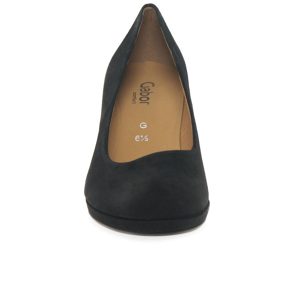 Gabor Ella Womens Suede Court Shoes