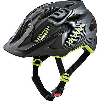 Alpina carapace JR Kids helmet / / black/neon yellow