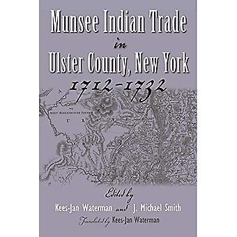 Munsee handlujących w Ulster County, New York, 1712-1732 (Irokezi & ich sąsiadów)