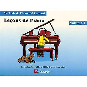 Lecons de Piano, Volume 1 (Methode de pianoforte Hal Leonard)