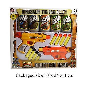 Dinosaure Tin Can Alley Safe doux fléchettes jeu de tir