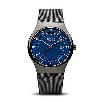 BERING Solar Analog Man with stainless steel strap 14640-227
