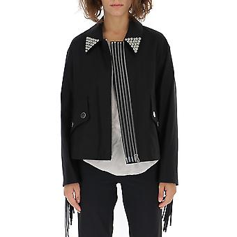 Alexander Wang 1w283021c1fb2114p18001 Women's Black Cotton Outerwear Jacket