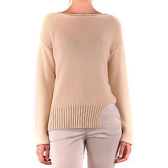 Fabiana Filippi Ezbc055037 Women's Bege Cotton Sweater