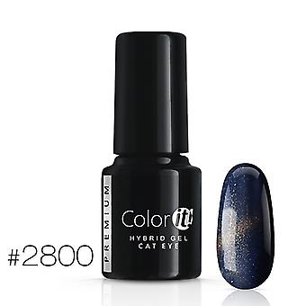 Gellack-Color IT-Premium-Cat Eye-* 2800 UV gel/LED