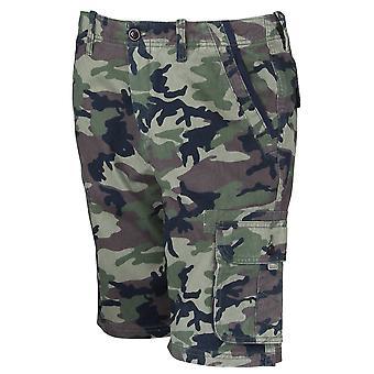 Quiksilver Herren jeden Tag Deluxe Cargo Shorts - Camo