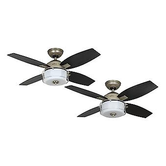 Ceiling fan Central Park Pewter 107cm / 42