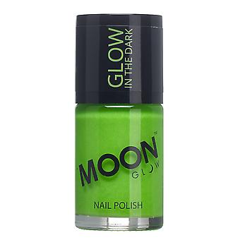 Moon Glow - 14m Glow in the Dark Nail Varnish - Green