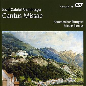 Rheinberger - Rheinberger: Cantus Missae [CD] USA import