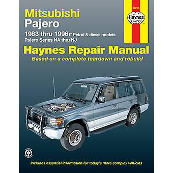 Mitsubishi Pajero Petrol & Diesel Automotive Repair Manual - 83-97 (3r