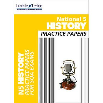 National 5 History Practice Papers for SQA Exams by Colin Bagnall