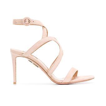 Aquazzura Mrnmids0sue Women's Pink Suede Sandals