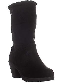 Anne Klein Harvest Boots, Black Suede