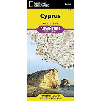 Cyprus  Travel Maps International Adventure Map by National Geographic Maps