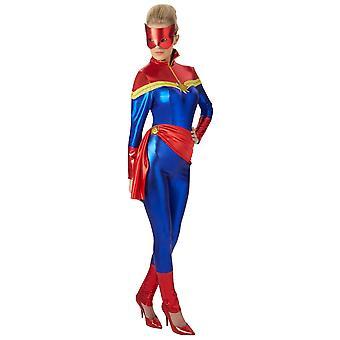 Adult Captaim Marvel Costume