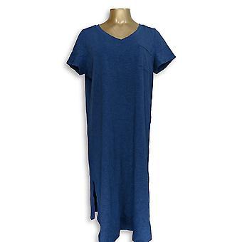 C. وندر بيتيت اللباس L أساسيات Slub Knit الأزرق A289779