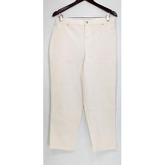 Joan Rivers Femmes apos;s Petite Jeans Joan-apos;s Classique Ankle White A303073