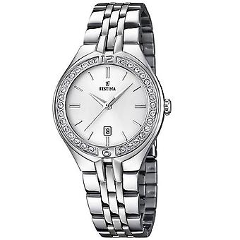 Festina Mademoiselle Quartz Analog Women's Watch with Stainless Steel Bracelet F16867/1