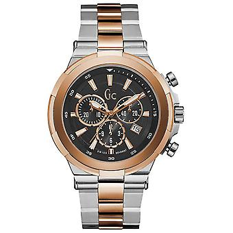 gc- quartz Analog Man Watch with Y23003G2 Stainless Steel Bracelet