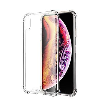 Backcover Shockproof TPU + PC voor Apple iPhone X/Xs Transparant