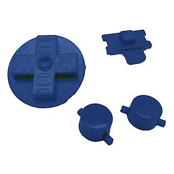 Replacement button set a b d-pad power switch for nintendo game boy original dmg-01 - blue