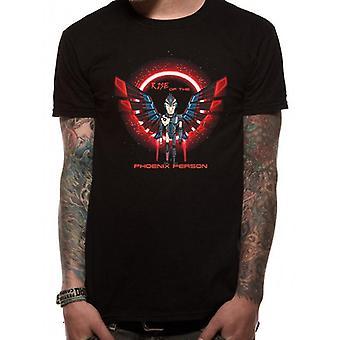 Rick i morty unisex dorośli Phoenix T-Shirt