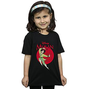 Disney Girls Mulan Dragon Circle T-Shirt