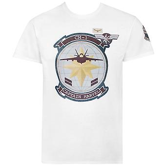 Captain Marvel Movie CM1 fighter jet mænd ' s T-shirt