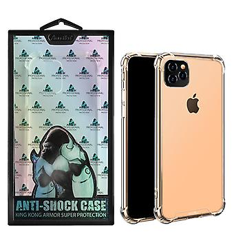 Backcover Anti-Shock TPU + PC voor Apple iPhone 11 Pro Max (6.5) Transparant