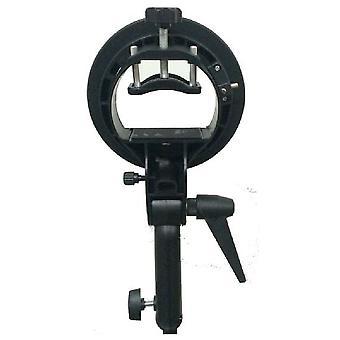 BRESSER BR-SBS Strobist S-Bajonett universeller Zubehöradapter für Kamerablitze