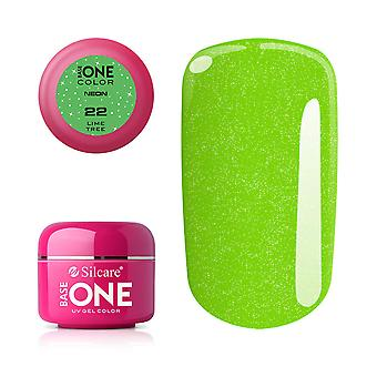Base one-Neon-Lime tree 5g UV Gel