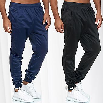 Mens Activewear Jogging Sports Trousers Fitness Bottoms Stripes Streetwear Pants