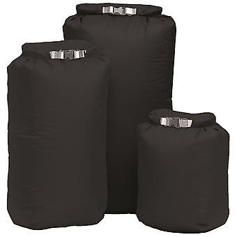 EXPED noir 100% imperméable à l'eau doublure de sac à dos 30L