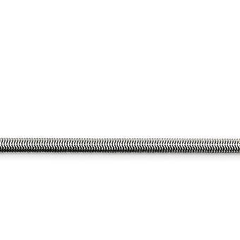 Edelstahl poliert Fancy Hummer Verschluss 4,20 mm flache Schlange Kette Halskette Schmuck Geschenke für Frauen - Länge: 20 bis