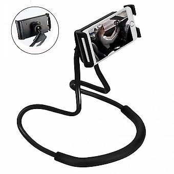 Universal Mobile Phone Holder For Carrying Around The Neck Lazy Rotatable Smart Mobile Phone Gooseneck Holder Stand 360° Rotatable