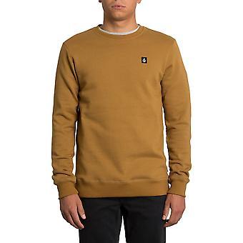 Volcom Single Stone Sweatshirt in Rust